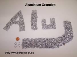 003 Aluminiumgranulat ø 2 - 4 mm - Bild vergrößern