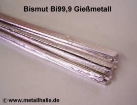 004 Bismut Bi99,9 Dreikantstange - Bild vergrößern