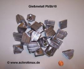 021 Gießmetall Hartblei PbSb10 - Bild vergrößern