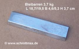 003 Bleibarren ca. 3,5 kg - Bild vergrößern
