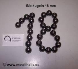 180 Bleikugeln ø 18,0 mm - Bild vergrößern