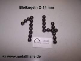 140 Bleikugeln ø 14,0 mm - Bild vergrößern