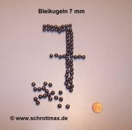 124 Bleikugeln ø 7 mm - Bild vergrößern