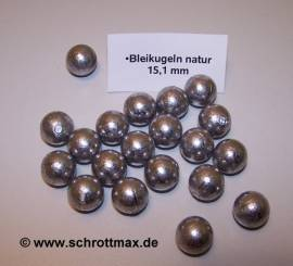 151 Bleikugeln ø 15,1 mm - Bild vergrößern