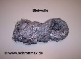 001 Bleiwolle 1 kg Zöpfe Fadenstärke 1,5 - 2,0 mm - Bild vergrößern