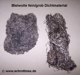 002 Bleiwolle Mauerwerksabdichtung fein 0,35 mm - Bild vergrößern