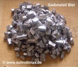 001 Blei Pb99,94 Gießmetall zum Bleigießen kleinstückig - Bild vergrößern