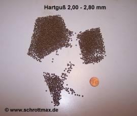 010 Hartguss Gh 2,0 bis 2,8 mm Strahlmittel - Bild vergrößern
