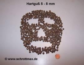 013 Hartguss Gh 5,0 bis 8,0 mm Strahlmittel - Bild vergrößern