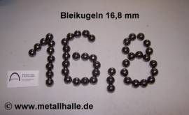 168 Bleikugeln ø 16,8 mm - Bild vergrößern