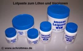 137 Lotpaste 1000 g für Karosseriezinn WSN 25% - Bild vergrößern
