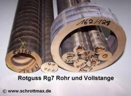 261 Rotguss Rohr für Lagerbuchse ø 26/14-100 mm - Bild vergrößern