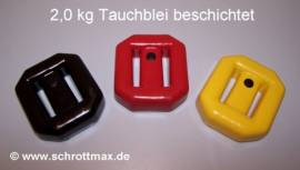 033 Tauchblei 2,0 kg beschichtet - Bild vergrößern