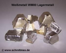 021 Zinn Gießmetall WM80 Sn80Sb12Cu6Pb2 - Bild vergrößern