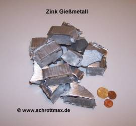 021 Zink ZnAl4Cu1 Zamak zum Gießen - Bild vergrößern
