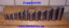 003 Zuggewicht / Uhrengewicht für Wanduhr 1,25 kg - Bild vergrößern