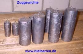 011 Zuggewicht / Uhrengewicht für Wanduhr 5,00 kg - Bild vergrößern