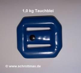 031 Tauchblei 1,0 kg beschichtet - Bild vergrößern