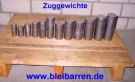 009 Zuggewicht / Uhrengewicht für Wanduhr 4,00 kg - Bild vergrößern