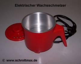 002 elektrischer Wachsschmelzer Schmelztopf - Bild vergrößern